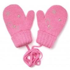 Варежки WM-1278 розовый Chobi
